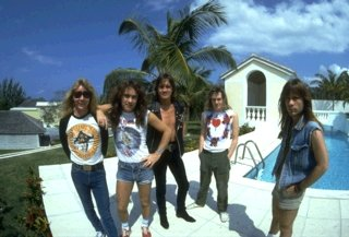 Life on the sunny side. The classic era Maiden line-up comes into being with the addition of ultra-reliable drummer Nicko McBrain.