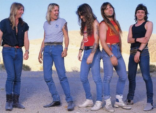Iron Maiden's classic era line-up get ready for the release of ...