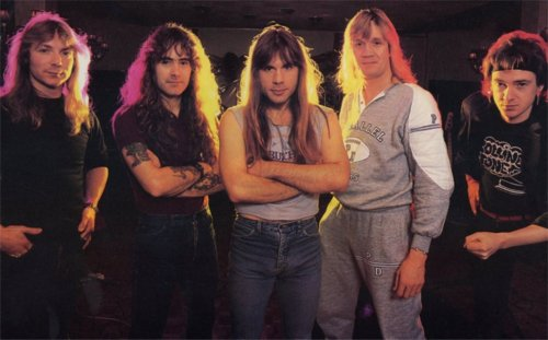 Maiden in 1986, the subject of a hopefully interesting and revealing discussion in the third part of the History documentary.
