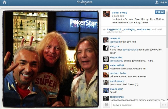 Cesar, Janick, Dave