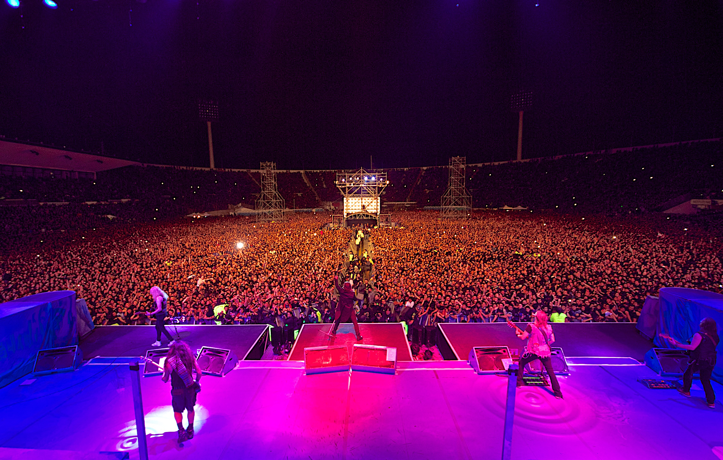 iron maiden biggest foreign concert draw in chile ever. Black Bedroom Furniture Sets. Home Design Ideas