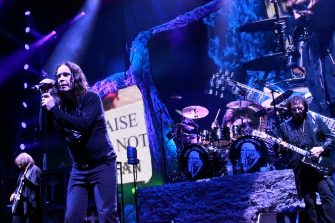 "Black Sabbath touring in support of their new album ""13""."