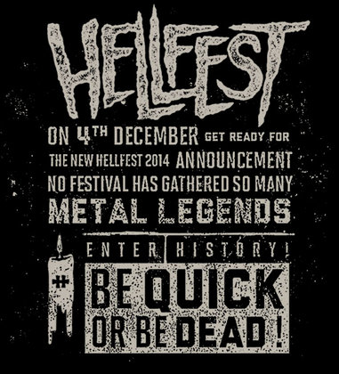 Hellfest be quick