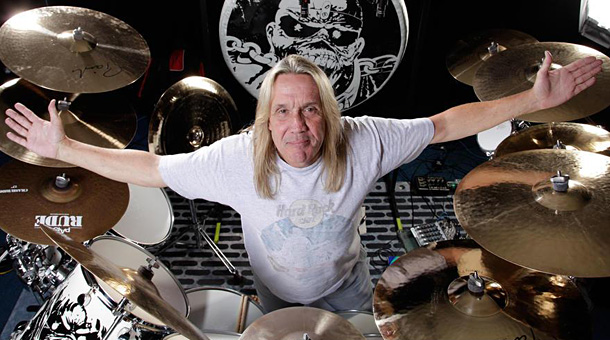 Nicko McBrain Portrait Shoot